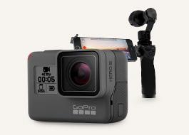 액션캠의 품격, Gopro&Osmo