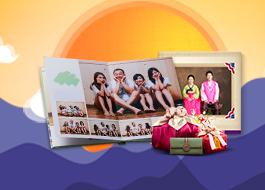 온 가족이 감동하는 포토북 기프트 페스티벌