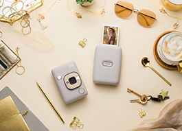 Golden Holiday with instax
