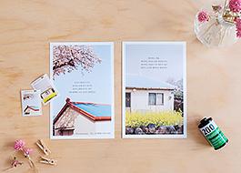 사진 엽서&우표 세트 <다시, 봄>