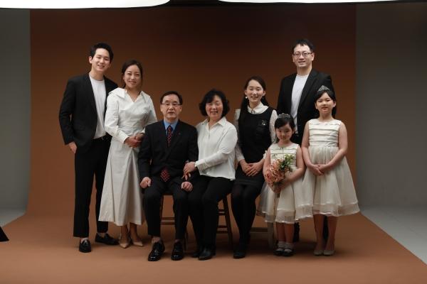 우리 대가족 사진