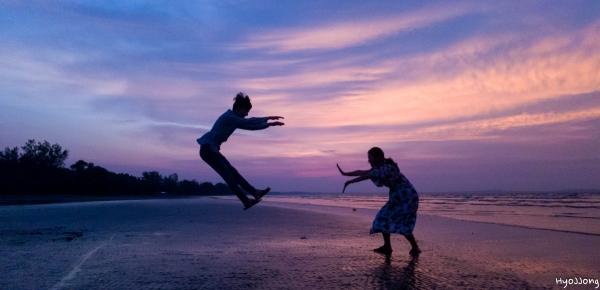 사랑으로 가득찬 에너지 발사 !