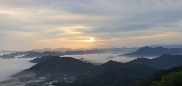 장령산 용암사 해돋이& 운무