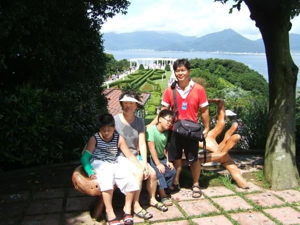 2008년 거제도 외도여행