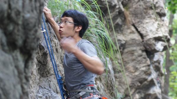 남한산성 범굴암 암벽등반
