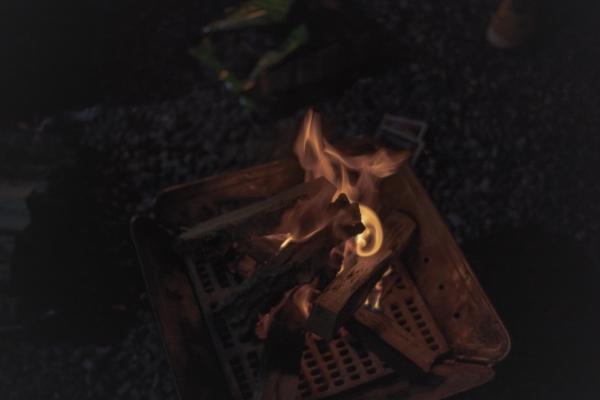 캠핑의 맛, 불멍!
