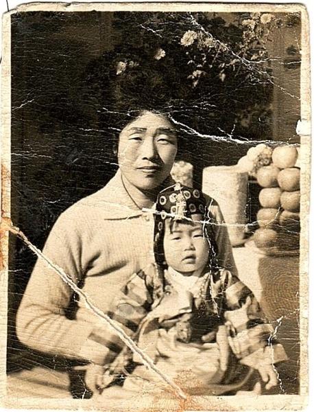 1962년 11월 어느날 엄마랑 외할머니랑